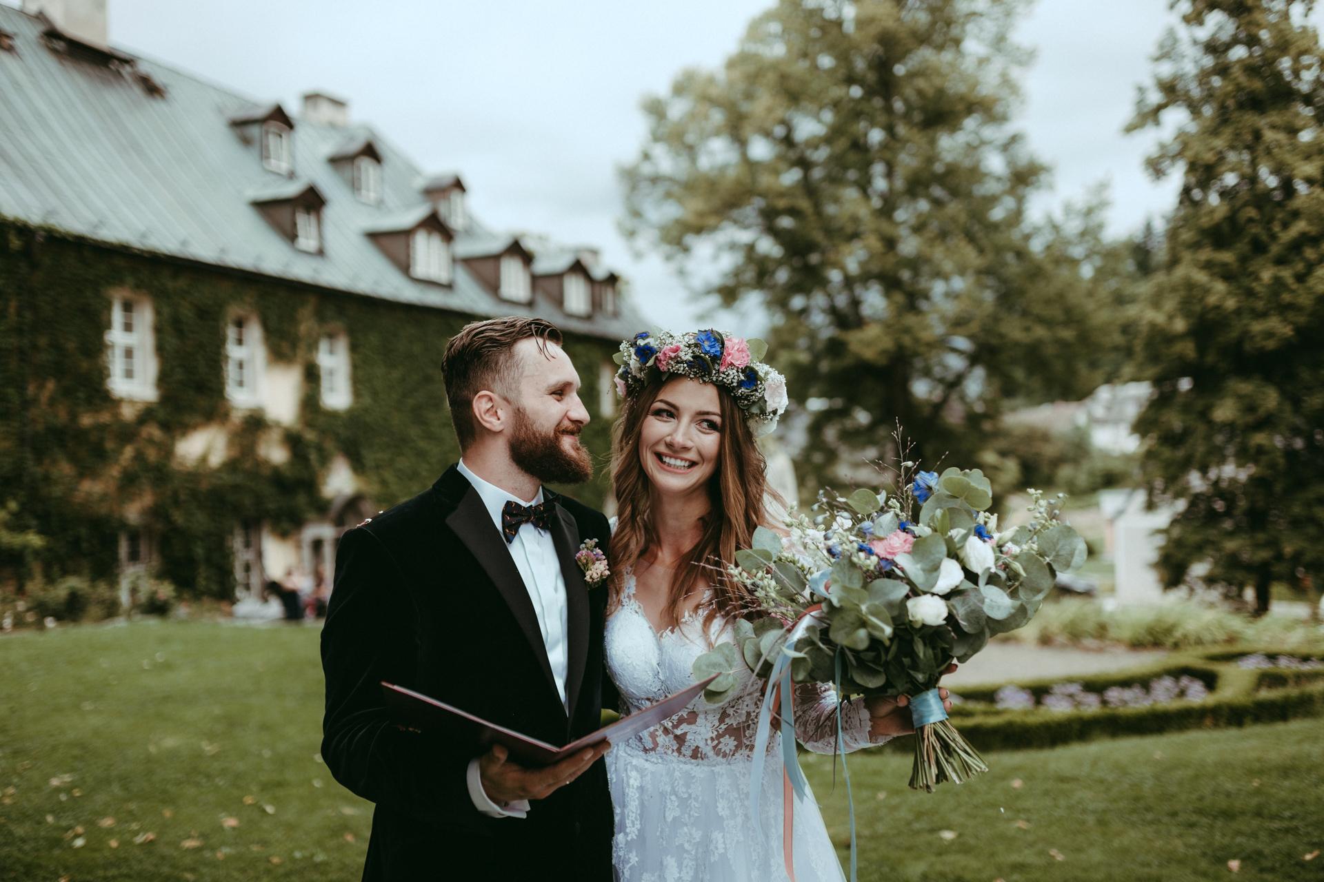 Paula&Miłosz // ślub z widokiem na Śnieżkę